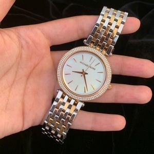 Never Worn Michael Kors Stainless Steel Watch!